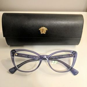 fa055ccf908 Versace Purple Cat Eye Glasses